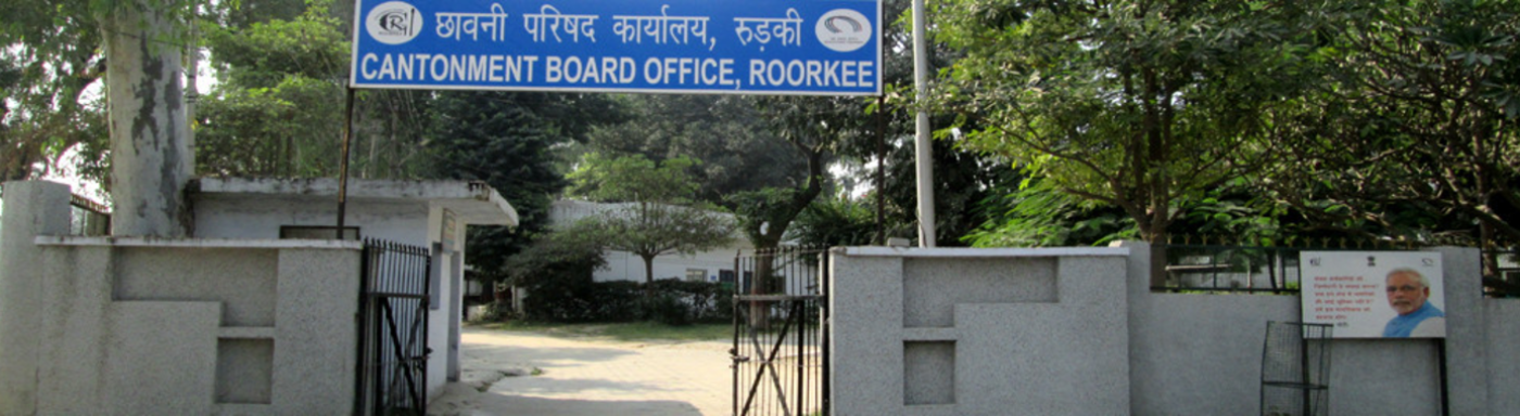 Cantonment Board Roorkee-3